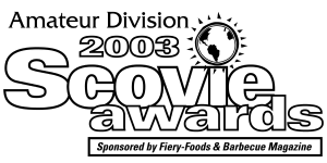 Amateur Division 2003 Scovie Awards