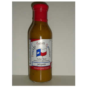 Jalapeno Honey Mustard - Smokin' Texas Gourmet..a Company of Red Kitchen Foods