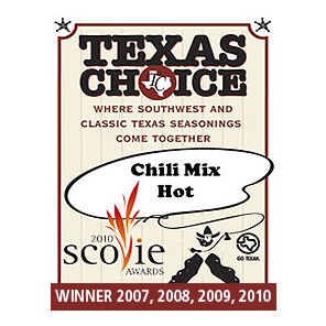 Texas Choice Chili Mix Hot - Texas Choice