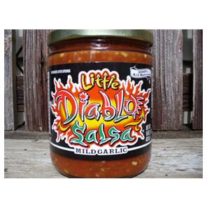 Mild Garlic - Little Diablo Salsa