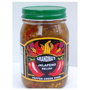 Grandma's Jalapeno Relish - Pepper Creek Farm