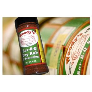 Woody's Bar-B-Q Dry Rub and Seasoning - Woody's Bar-B-Q Sauce Company
