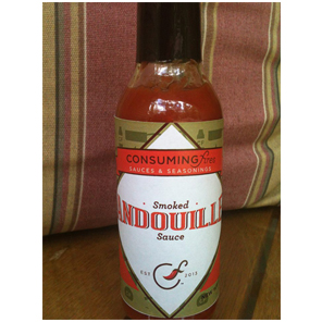 Consuming Fires Smoked Andouille Sauce - Consuming Fires Specialty Foods