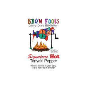 BBQ'n Fools Signature Hot Teriyaki Sauce - BBQ'N Fools Catering LLC