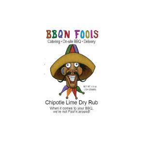BBQ'n Fools Chipotle Lime Dry Rub - BBQ'N Fools Catering LLC