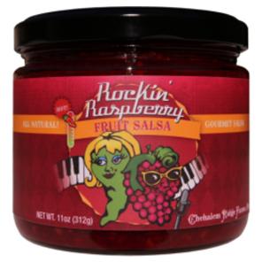 Rockin' Raspberry Fruit Salsa - Chehalem Ridge Brands