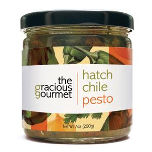 Hatch Chile Pesto - The Gracious Gourmet