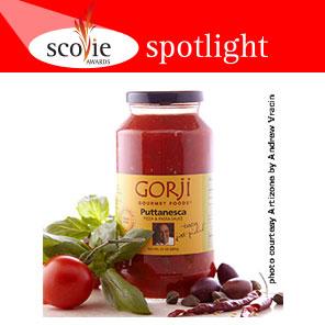 Scovie Spotlight - Puttanesca Grilled, Chilled Avocado & Shrimp Recipe