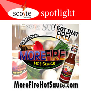 Scovie Spotlight - MoreFire! Hot Sauce