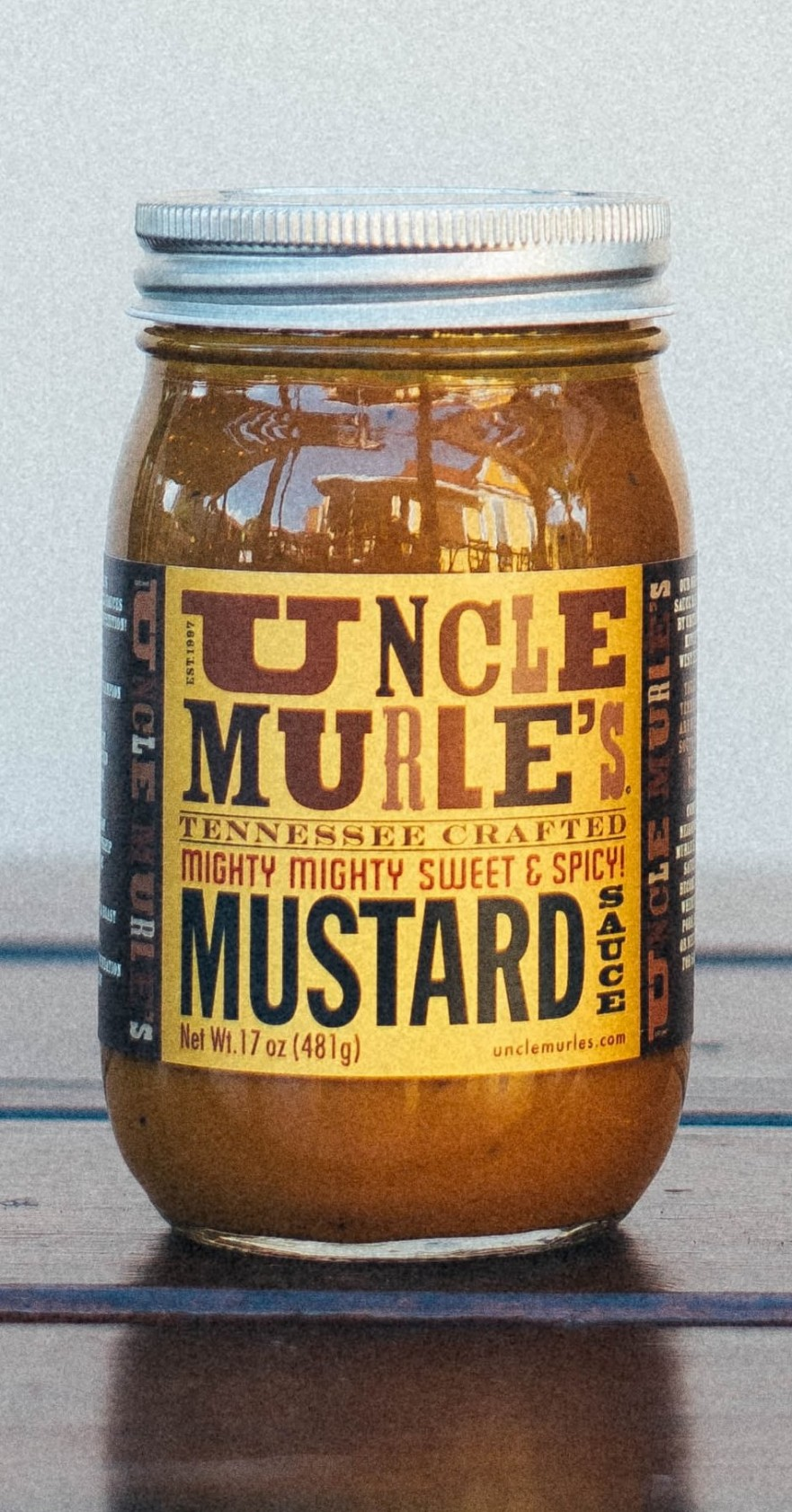 Uncle Murle's 4 7777_mustard